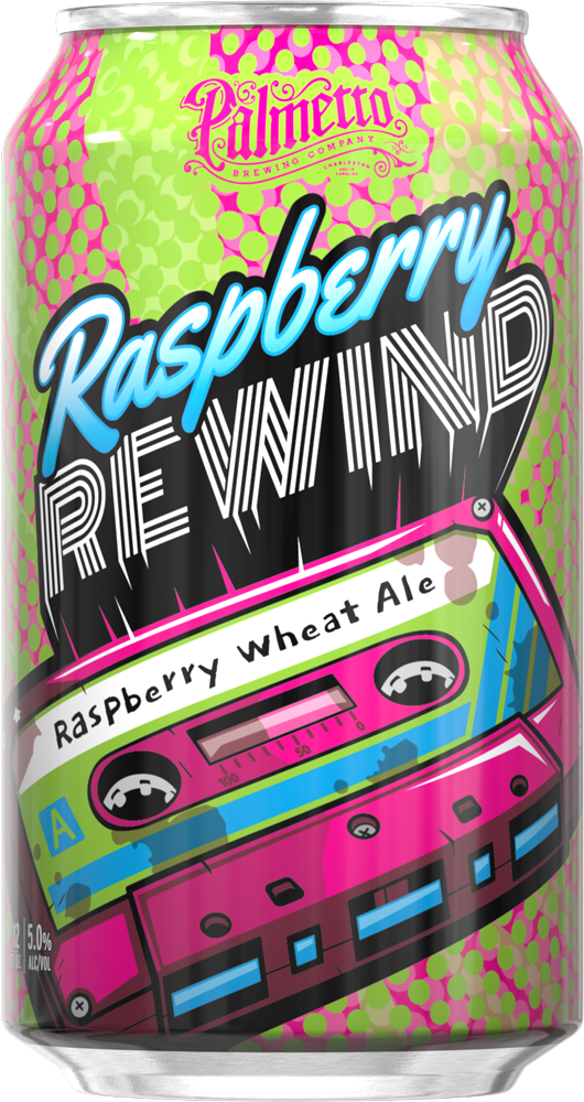 Palmetto Brewing- Raspberry Rewind - Raspberry Wheat Ale - SC